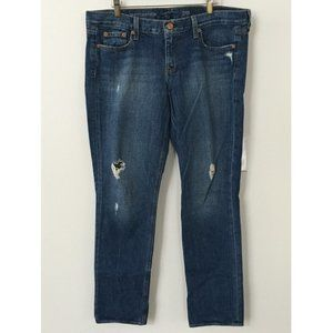 J. Crew Vintage Matchstick Jeans Distressed